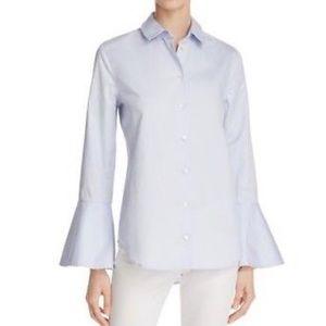 Equipment Darla Poplin Bell Sleeve Shirt